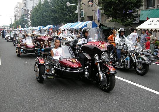 ハーレー、パレード.JPG